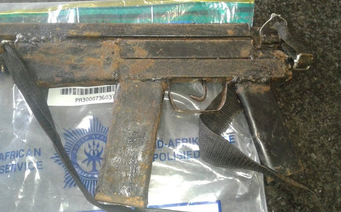 A firearm seized during an operation in KwaZulu-Nata. Picture: SAPS.