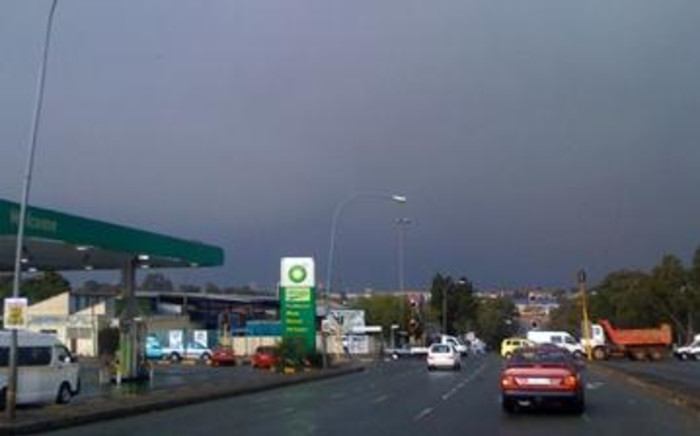 The weather service has forecasted rainy skies for Johannesburg on Christmas day.