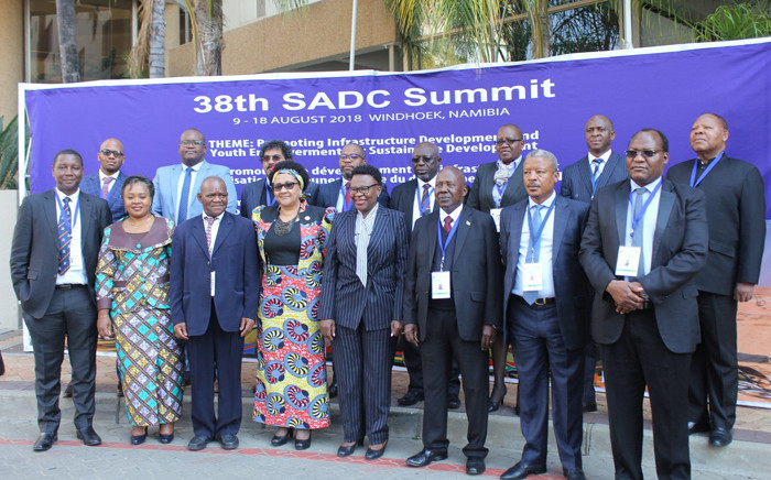 Officials from the 16 Southern African Development Community (SADC) nations. Picture: Twitter/@SADC_News.