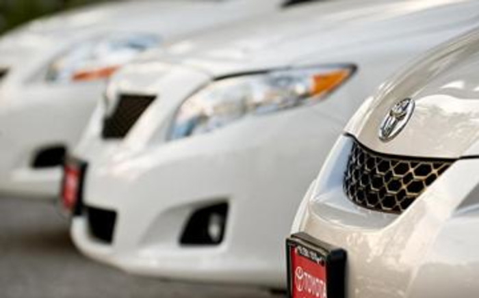 FILE:Toyota, Nissan, Honda and Diahatsu will replace potentially fatal airbag inflators made by Takata Corp. Picture: AFP