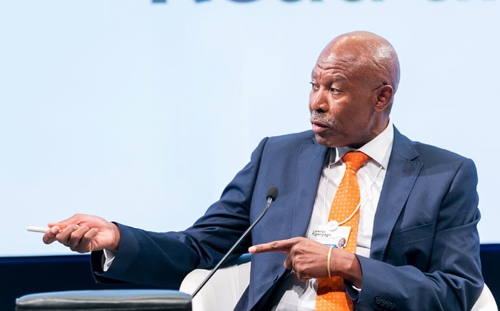 FILE: Lesetja Kganyago, Governor South African Reserve Bank (SARB), at the World Economic Forum on Africa 2017 in Durban, South Africa, 2017. Picture: World Economic Forum.