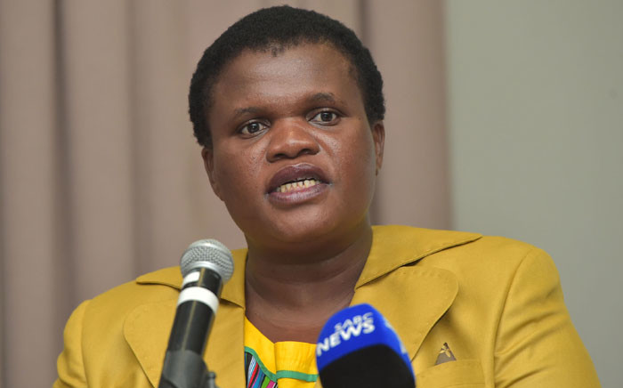 FILE: Minister of Public Service and Administration Faith Muthambi. Picture: GCIS.