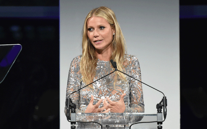 Gwyneth Paltrow speaks onstage during the 11th Annual Golden Heart Awards benefiting God's Love We Deliver on 16 October 2017 in New York City. Picture: AFP