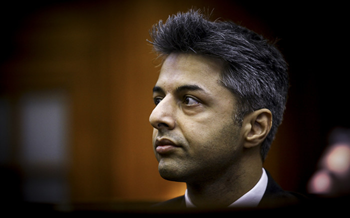 FILE: Shrien Dewani in the dock at Cape Town High Court at the start of the trial on 6 October 2014. Picture: Thomas Holder/EWN.