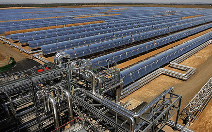 FILE: An aerial view of the Kaxu One solar power plant in Poffader - Northern Cape, Monday 2 March 2015. Picture: Supplied.