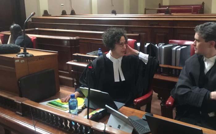 Outa's legal representative Carol Steinberg at the High Court in Pretoria on 2 December 2019. Picture: Edwin Ntshidi/EWN.