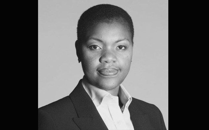 FILE: The SABC's Phathiswa Magopeni as the group executive for news and current affairs. Picture: Twitter/@PhathiswaPM.