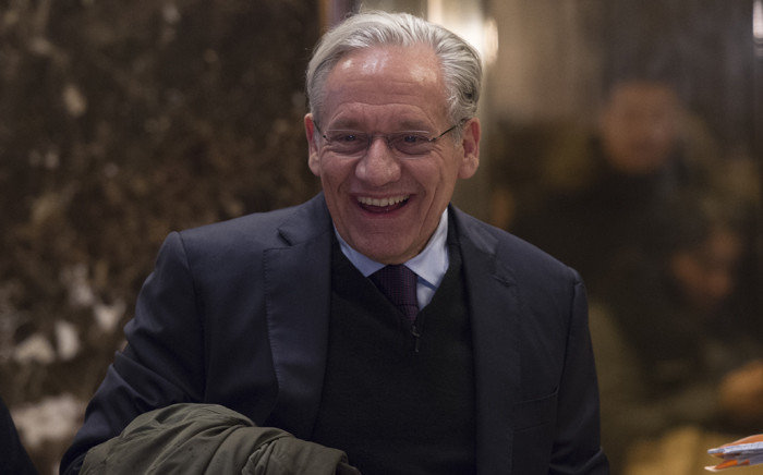 In this file photo taken in January 2017, Bob Woodward arrives for meetings with US President Donald Trump at Trump Tower in New York. Picture: AFP.