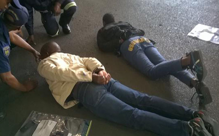 FILE. A man was shot and wounded in an alleged robbery at the Menlyn Mall in Pretoria on 31 August 2015. Picture: @Netcare911_SA.