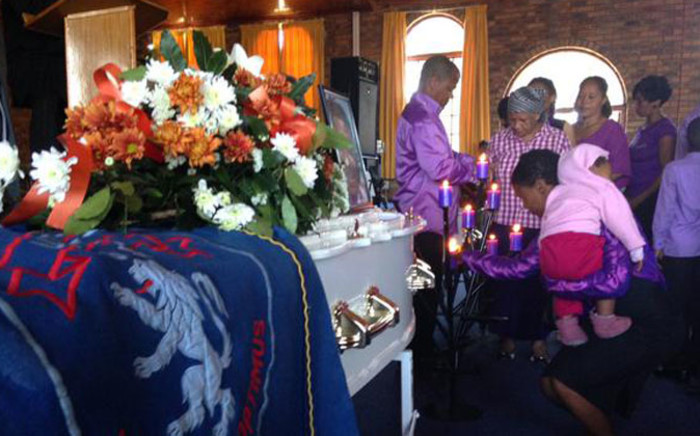 Two Uitsig relatives who died are being buried today, 22 November 14. Picture: Siyabonga Sesant/EWN.