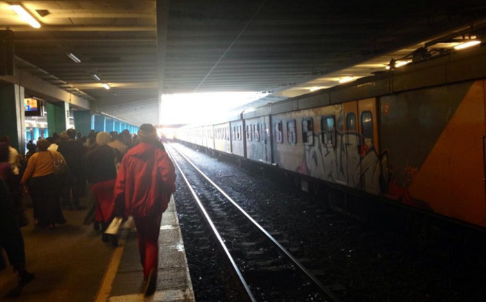FILE: Trains are experiencing delays following the death of a man who was hit by a train this morning. Picture: EWN