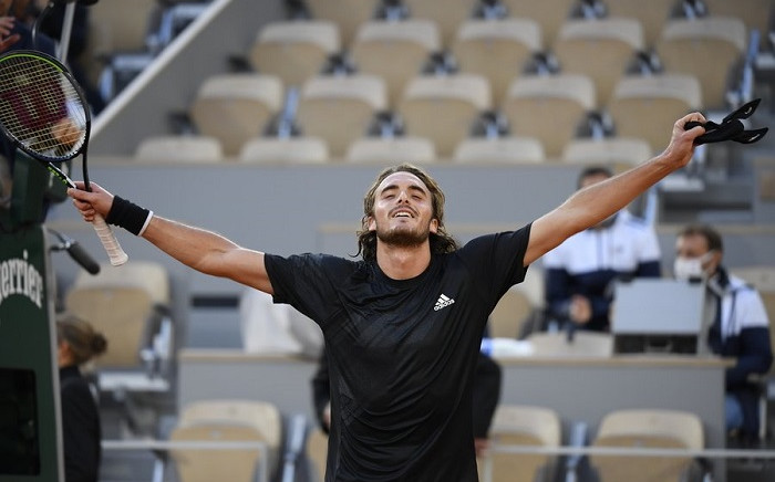 2020 Roland Garros fifth seed Stefanos Tsitsipas. Picture: @Rolandgarros/Twitter
