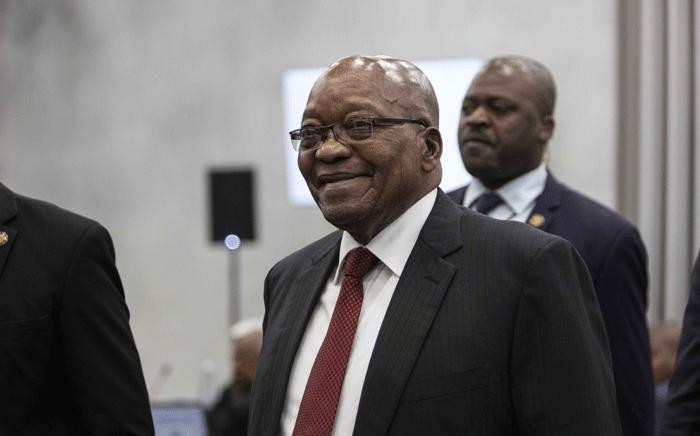 FILE: Former President Jacob Zuma at the state capture commission on 19 July 2019. Picture: Abigail Javier/EWN