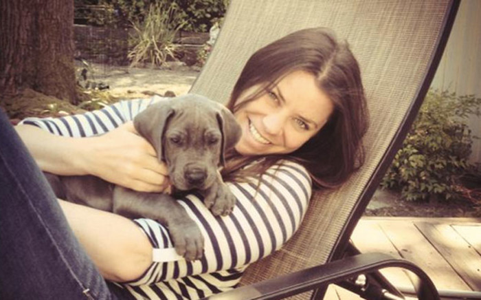 Brittany Maynard with her dog. Picture: TheBrittanyFund.org.