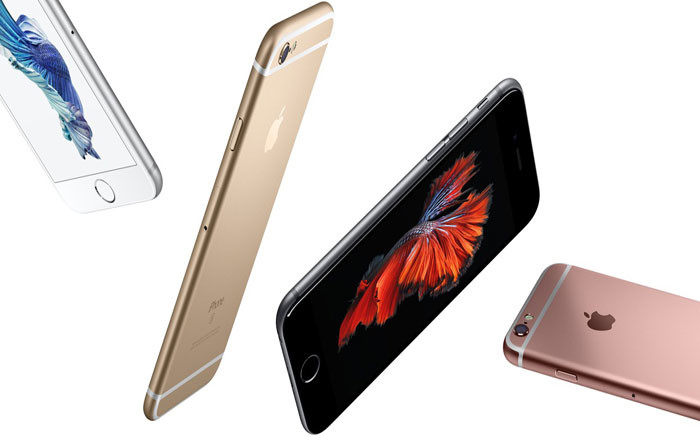The new iPhone 6s and 6s Plus. Picture: Screengrab via apple.com