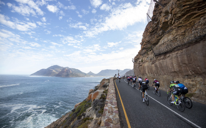 Cyclists taking part in the 2020 Cape Cycle Tour. Picture: capetowncycletour.com