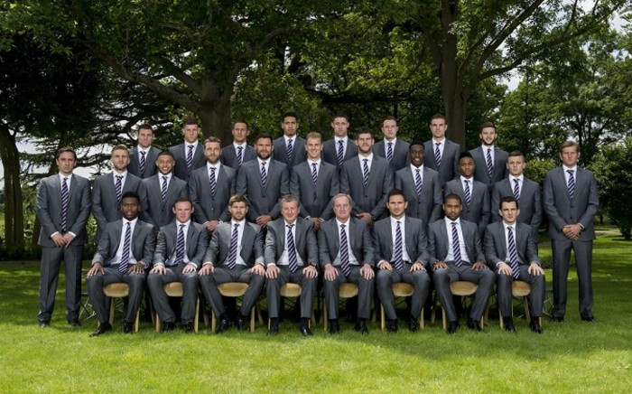 The England squad for the 2014 FIFA World Cup. Picture: Facebook.com