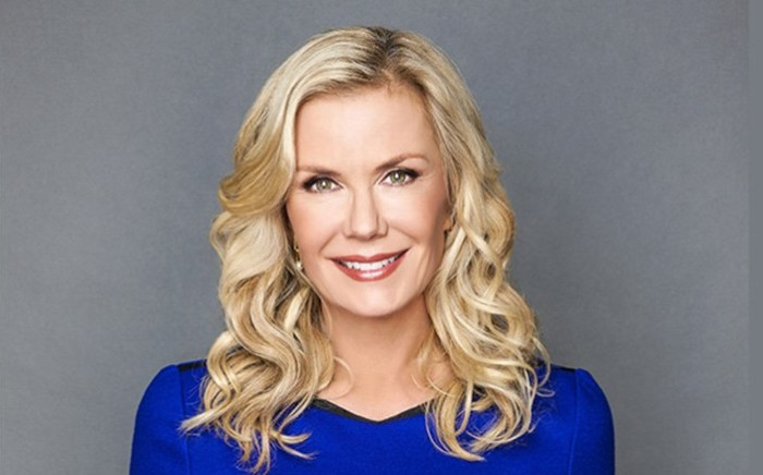 Katherine Kelly Lang from The Bold and the Beautiful. Picture: @SABC3/Twitter.