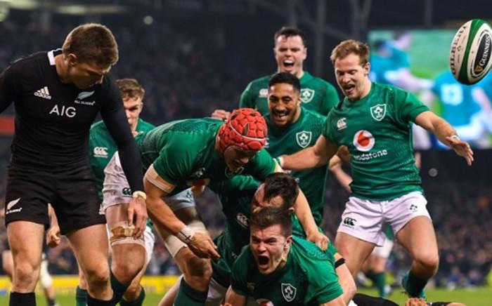 Ireland vs New Zealand in Dublin. Picture: @IrelandRugby/Twitter