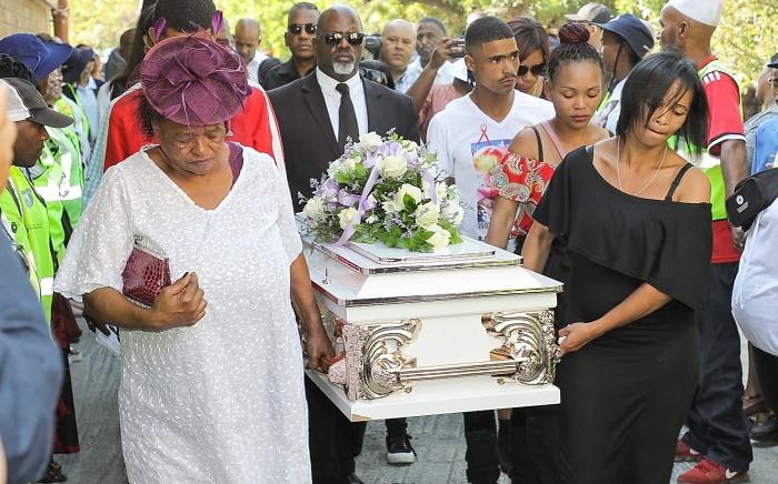 Tazne van Wyk's funeral. Picture: SAPS.