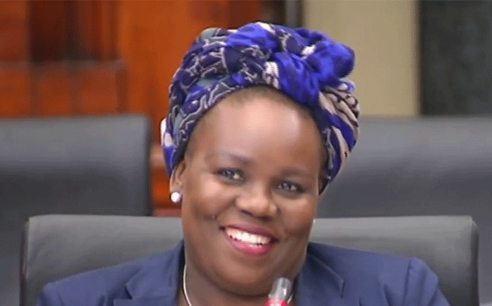 FILE: Former North West Director of Public Prosecutions, Moipone Noko. Picture: YouTube screengrab.