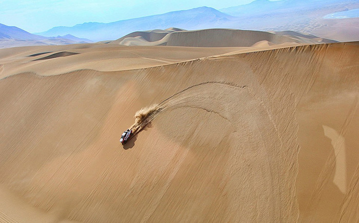 FILE: Dakar Rally gets underway on 6 January. Picture: @Dakar/Facebook.com.