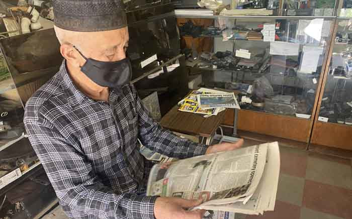 76-year-old Mogamed Zain Cupido has been fighting for a proper allocation of burial space in Caledon to serve the Muslim community for almost three decades. Picture: Shamiela Fisher/Eyewitness News