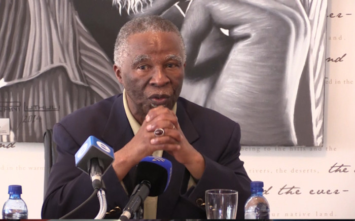 Former South African president Thabo Mbeki. Picture: Kgothatso Mogale/EWN.