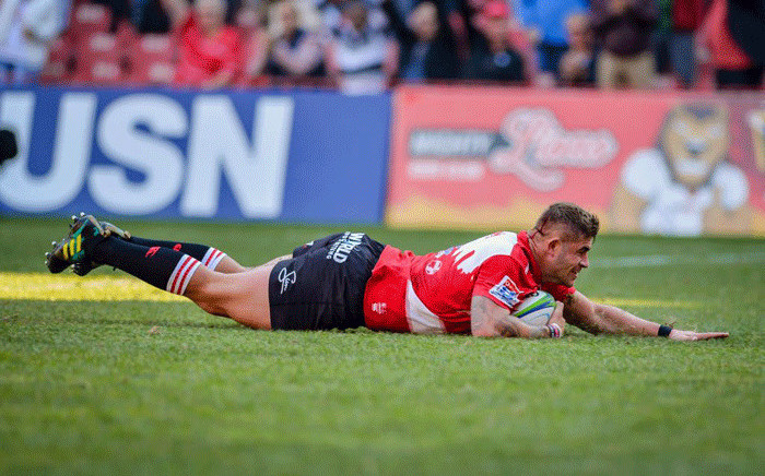 Emirates Lions scored four tries to beat a brave Jaguares side 40-23 at Ellis Park to set up a home semifinal against the Waratahs. Picture: Lions official Facebook page