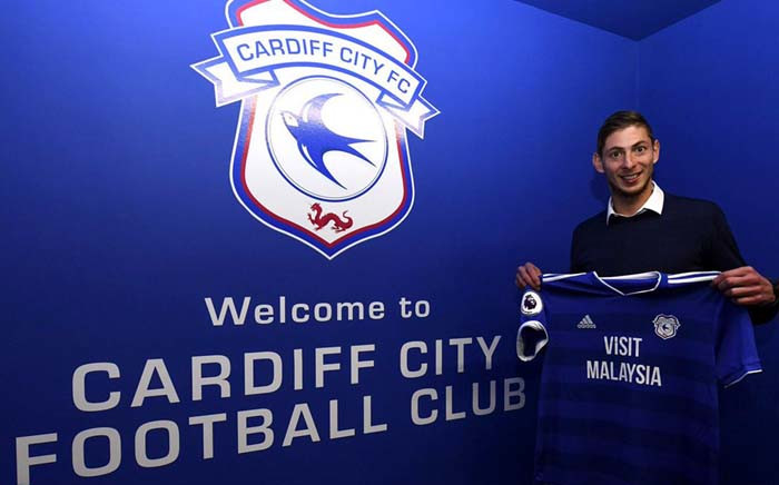 FILE: Argentina-born Emiliano Sala joined struggling Cardiff from FC Nantes earlier in January 2019. Picture: @EmilianoSala1/Twitter
