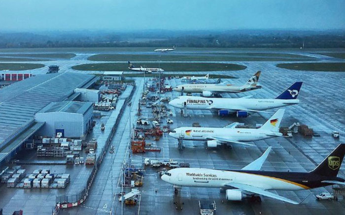 London's Stansted Airport. Picture: @STN_Airport/Twitter