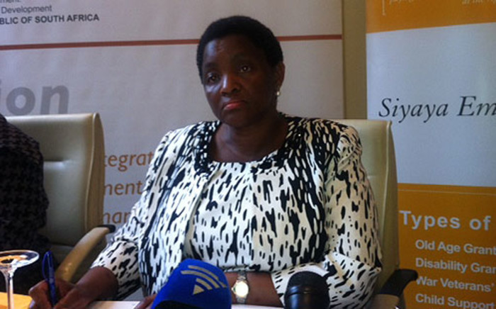 FILE. Social Development Minister Bathabile Dlamini. Picture: EWN