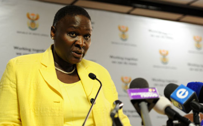 FILE: Suspended National Police Commissioner Riah Phiyega. Picture: EWN
