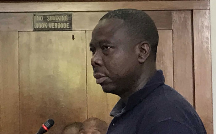 JP Balous appears in the Cape Town Magistrates Court on 3 January 2020. Picture: Kevin Brandt/EWN