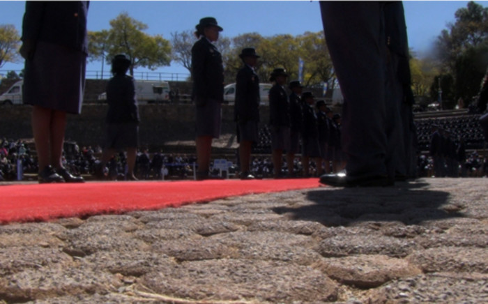 Seventy-six police officers who were killed in the line of duty over the past year were honoured at the annual police memorial held in Pretoria on 1 September 2013. Picture: Reinart Toerien/EWN