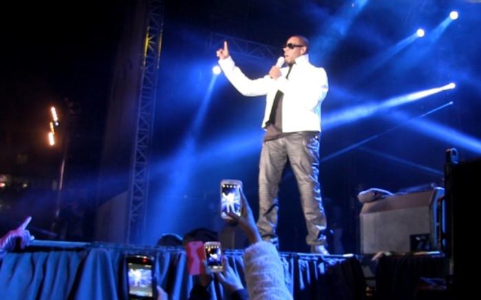 FILE: R&B R Kelly performing at the Orlando Stadium on 8 August 2013. Picture: Lesego Ngobeni/EWN
