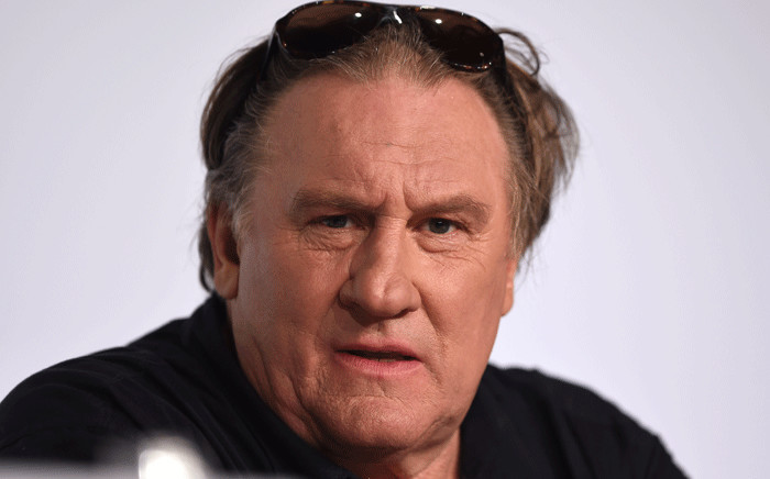 FILE: French actor Gerard Depardieu. Picture: AFP