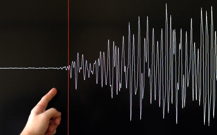 A seismograph measures seismic activity. Picture: AFP