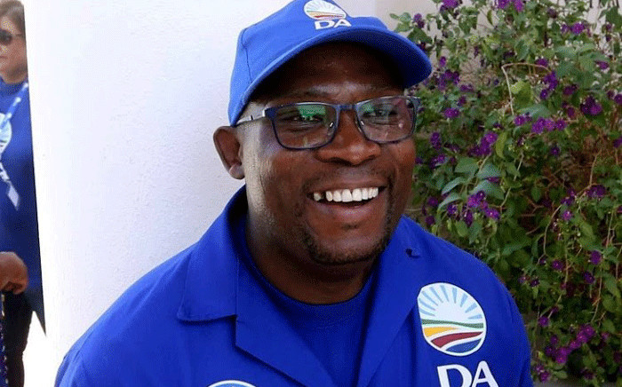 Democratic Alliance (DA) Western Cape leader Bonginkosi Madikizela. Picture: @Our_DA/Twitter