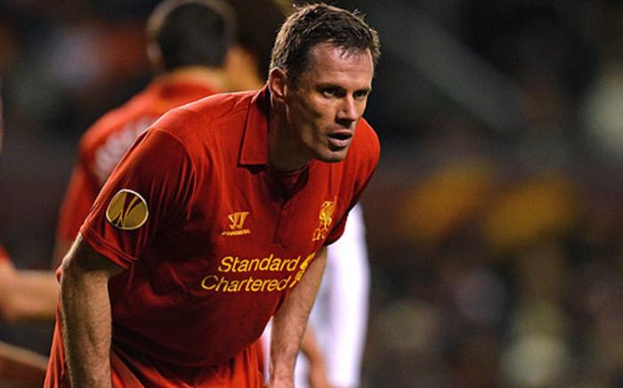 Liverpool's English defender Jamie Carragher. Picture: AFP