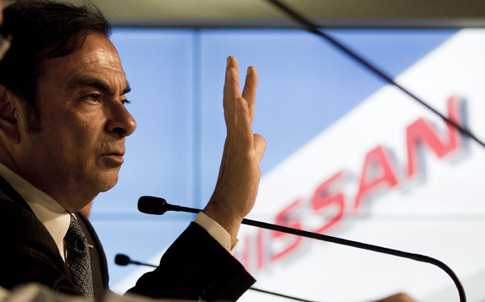 FILE: Chairman, president and CEO of Nissan Motor Co., Ltd., Carlos Ghosn. Picture: AFP