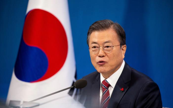 South Korean President Moon Jae-in. Picture: JEON HEON-KYUN/AFP.