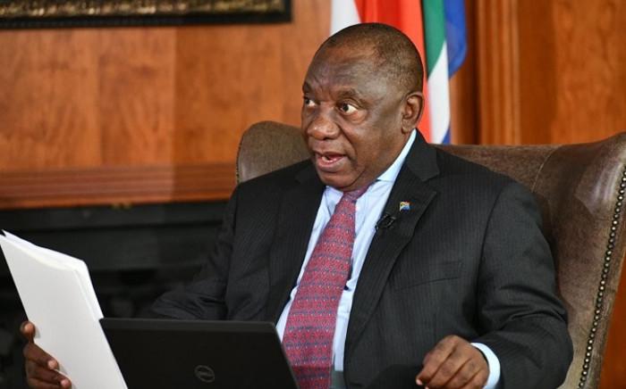 FILE: President Cyril Ramaphosa. Picture: @PresidencyZA/Twitter.