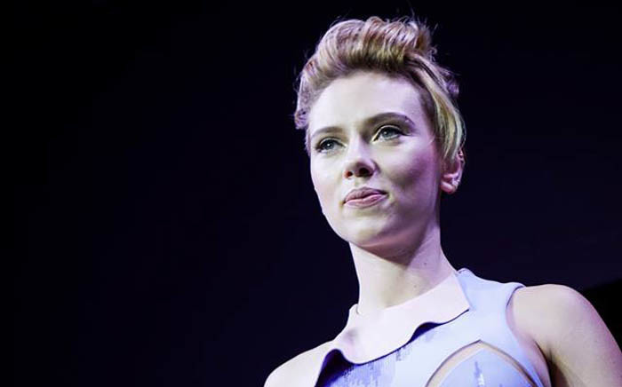 FILE: Scarlett Johansson. Picture: @GhostInTheShellMovie/Facebook.com