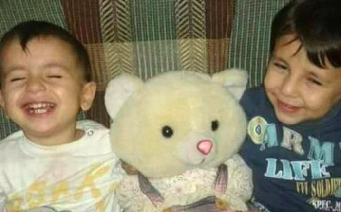 Three-year-old Aylan and five-year-old Galip Kurdi from Syria died this week when the boat they were travelling in capsized off the Turkish coast. Picture: Supplied.