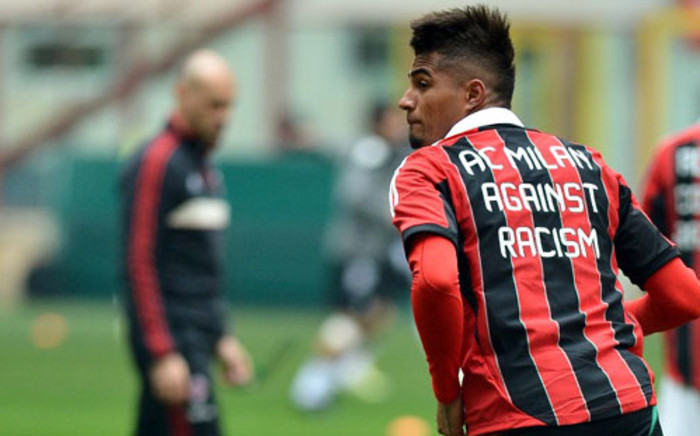 AC Milan midfielder Kevin-Prince Boateng believes football needs to be more multi-cultural. Picture: AFP