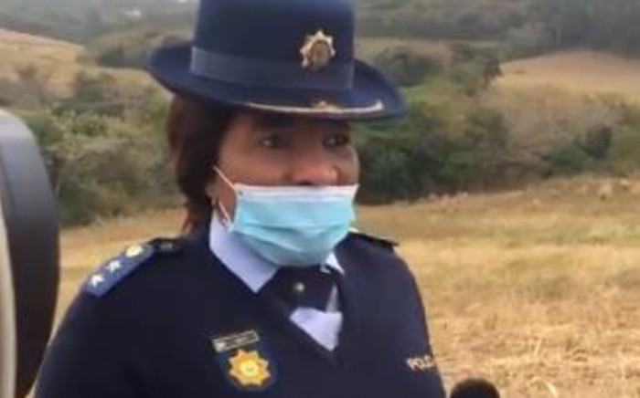 The police's Thembeka Mbhele has called on uMthwalume community members to exercise caution following the discovery of a fifth body in the area on 12 August 2020. Picture: Nkosikhona Duma/EWN