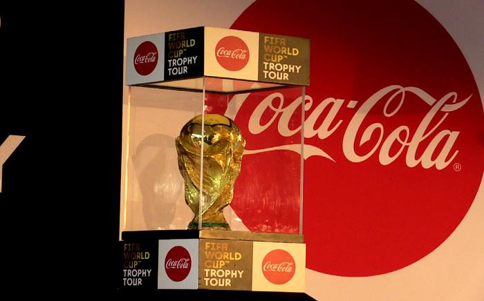 The Fifa world cup trophy is in Johannesburg for its leg of the world tour. Picture: Kayleen Morgan/EWN