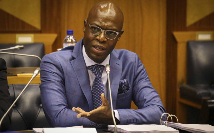 Eskom executive Matshela Koko testifying before the parliamentary inquiry into state capture at Eskom on 24 January 2018. Picture: Cindy Archillies/EWN.