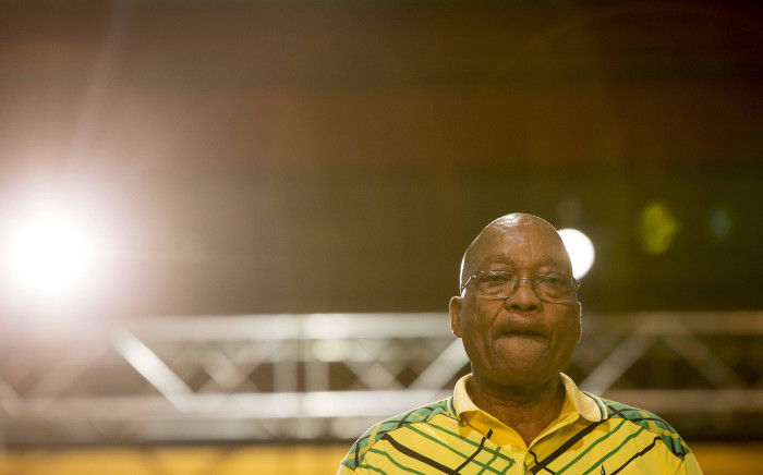 Jacob Zuma at the ANC's 54th national conference on 16 December 2017. Picture: Thomas Holder/EWN.